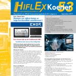 Hiflex Nieuwsbief September 2019