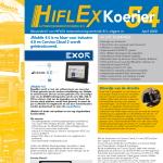 Hiflex Nieuwsbief April 2020