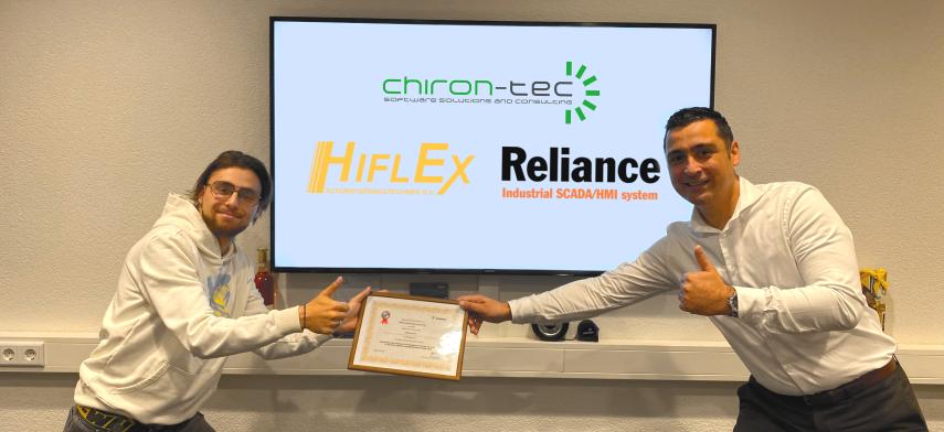 Chiron-tec 2de prijs Reliance competitie